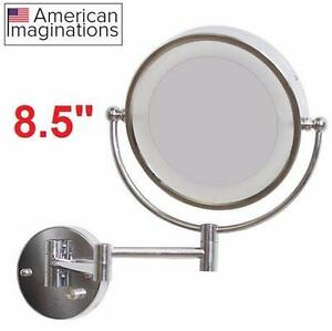 NEW AI ROUND LED WALL MIRROR AMERICAN IMAGINATIONS - Home Kitchen › Bath › Bathroom Accessories › Bathroom  83741203