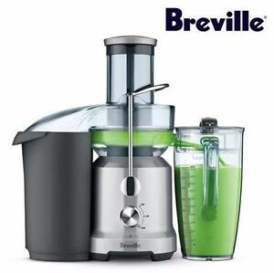 USED BREVILLE JUICE FOUNTAIN JUICER   Breville L.P. BJE430SIL The Juice Fountain Cold-Juicer, Silver  89123986