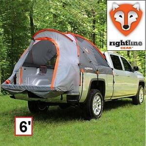 NEW RIGHTLINE GEAR TRUCK BED TENT COMPACT-SIZE TRUCK BED TENT 6-FEET 101951516