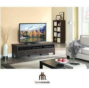 NEW* HT FLAT PANEL TV CONSOLE STAND TV STAND TELEVISION CONSOLE - HOMETRENDS - HOME TRENDS 102120402