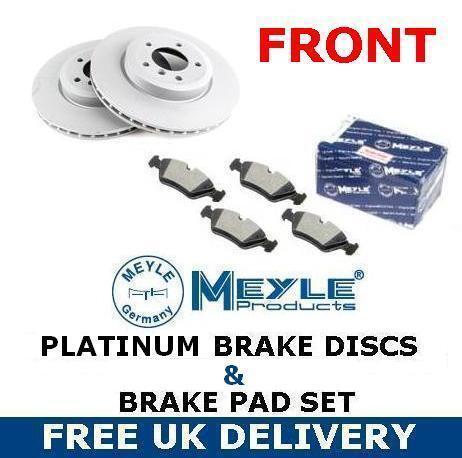 FOR BMW 1 SERIES E81 E87 116 118 116D 2004- FRONT PLATINUM BRAKE DISC PADS 284mm