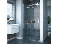 Nova Frameless Sliding Shower Door - NEW
