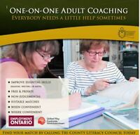 FREE One-on-One Adult Tutoring