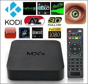 MXQ ANDROID TV BOX - QUAD CORE, FULL HD 1080P