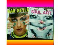 Nail art technique books