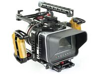 Black magic cinema camera (BMCC) 4k and SSDsand brand new cage with accessories