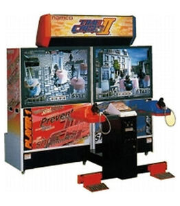 Time Crisis 2 Deluxe Arcade Cabinet
