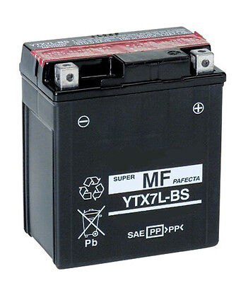 Batterie Moto booster Scooter YTX7L-BS 12V 6Ah NEUF