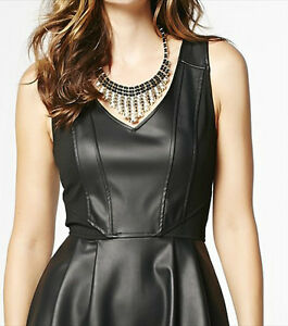 Faux Leather Dress - Great for Holiday Parties London Ontario image 2