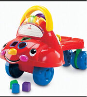 Fisher price ride on walker