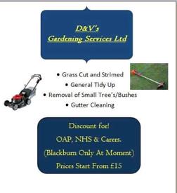 D&V's Gardening, (BLACKBURN ONLY))west Lothian.
