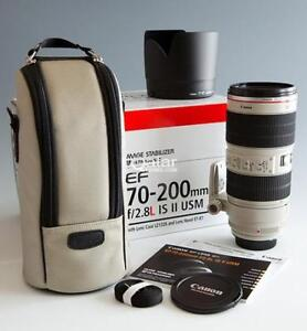 Canon EF 70-200mm f/2.8L IS II USM Lens, Brand NEW