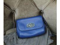 Genuine mulberry handbag leather