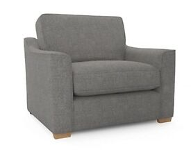 2 Seater Sofa, Cuddle Chair and Storage Foot Stool
