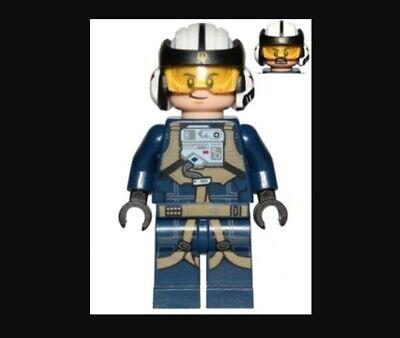 Lego Star Wars Rogue One Rebel Pilot U-wing Minifigure 75160 sw0800