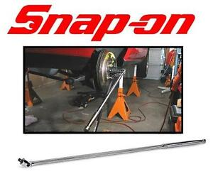 "NEW SNAP-ON 1/2"" BREAKER BAR 36"" hand tools  1/2"" drive tools  breaker bars  breaker bars (1/2"") 1/2"" Drive 105158823"