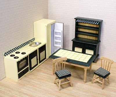 Melissa and Doug 2582 Doll House Kitchen Furniture