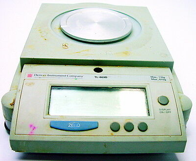 Denver Instrument Tr-603d Laboratory Analytical Scale Balance