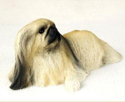 PEKINGESE  MY  DOG  Figurine Statue Pet Lovers Gift Resin Hand Painted