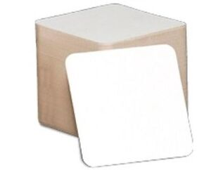 QTY-50-Square-Blank-Coasters-cocktails-plain-white-perfect-for-crafts