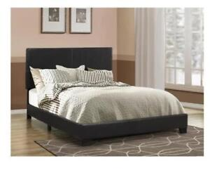 For Sale A Brand New Oxford Upholstered Double Size Panel Bed By Winston Porter.......$150