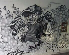 graffiti artist/cartoonist