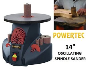 "NEW POWERTEC 14"" OSCILLATING SPINDLE SANDER"