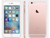 iPHONE 6S 64GB, UNLOCKED, SHOP RECEIPT & WARRANTY, ROSE GOLD