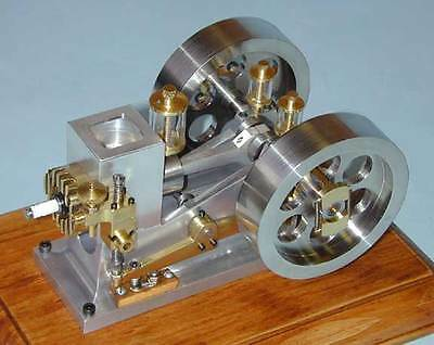 Model Engine Builder - Bob Shores Little Angel Hit Miss Model Engine Plans and Builders Hints Barstock
