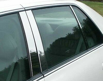 Dhs Post (Cadillac 2000 2001 2002 2003 2004 2005 DEVILLE DTS DHS CHROME PILLAR POSTS 6 PC )