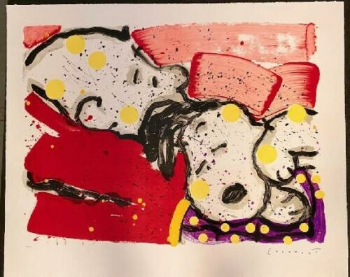 """""""Mellow Jello """"  L.E. Hand signed & numbered Tom Everhart with COA, Charlie Brow"""