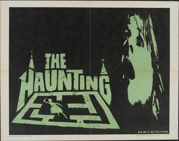 THE HAUNTING Movie POSTER 22x28 Half Sheet Julie Harris Claire Bloom Richard