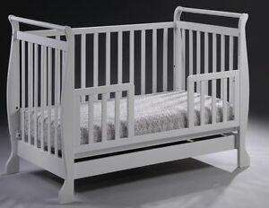 New-3-in-1-Wooden-Baby-Cot-Bed-Bassinet-Toddler-bed
