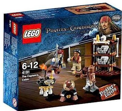 4191 The Captain's Cabin Pirates Of The Caribbean Lego Legos Set Nisb