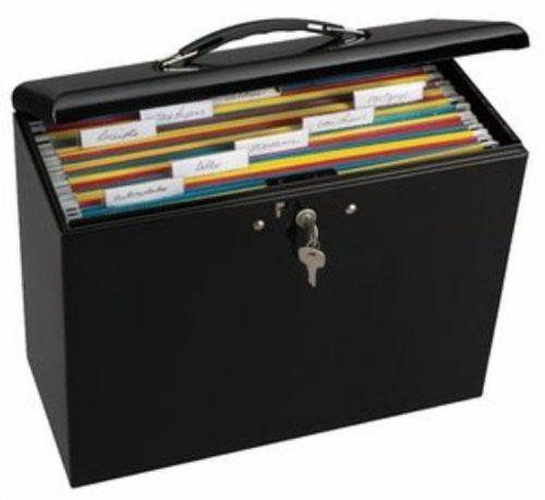 Locking File Box Ebay