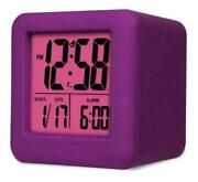 Purple Alarm Clock