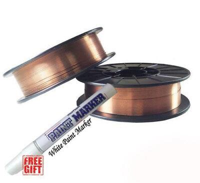 Er70s-6 .030 X 10 Lb Mig Welding Wire Rod - 2 Rolls