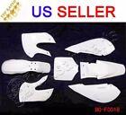 Unbranded White ABS Plastic Fenders