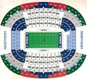 2 Denver Broncos Tickets