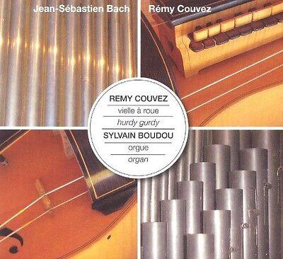Sylvain Boudou - Hurdy Gurdy & Organ Play JS Bach [New CD]...