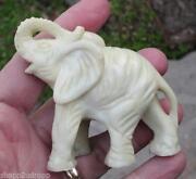 Carved Ivory Elephant