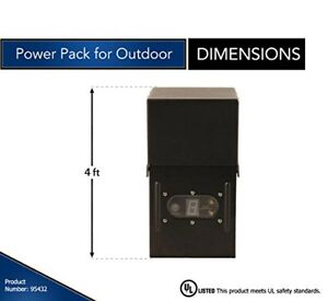 Moonrays Electric Power Pack For Outdoor Low Voltage Lighting