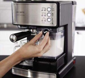 Mr.Coffee Café Barista Espresso Cappuccino Maker Automatic Milk Frother Machine