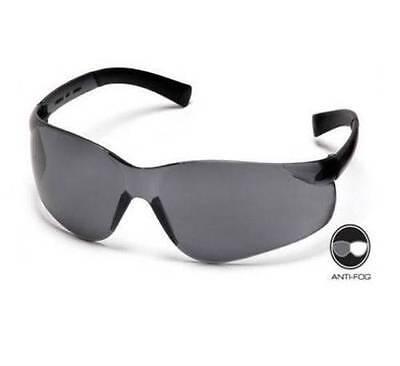 Pyramex Ztek Safety Glasses, Gray Anti Fog Lens, Gray Frame, 12 Pack - MS97136