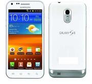 White Samsung Galaxy S2 Boost Mobile