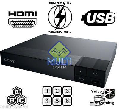 SONY BDP-S1700 ALL REGION FREE BLU-RAY DVD PLAYER - ZONE A,B,C & DVD: 0-9, USB