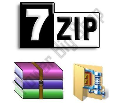 7Zip Extract And Compress Software Compatible With Winzip Zip Unzip Winrar