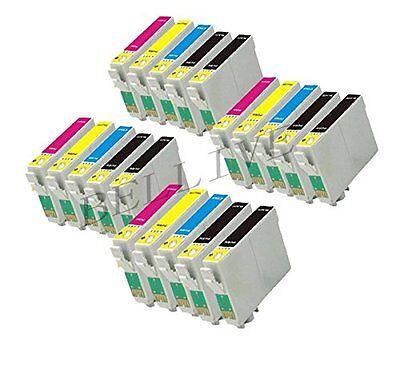20 Cartucce per Stampante Epson  XP415 XP212 XP225 XP322 BL18