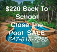 $220 Extended SALE PooL CLOSING SALE!! $220 Guelph