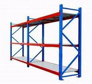 NEW 26.5 FT RACKING SHELVING SHOP INDUSTRIAL WAREHOUSE STORAGE PALLET